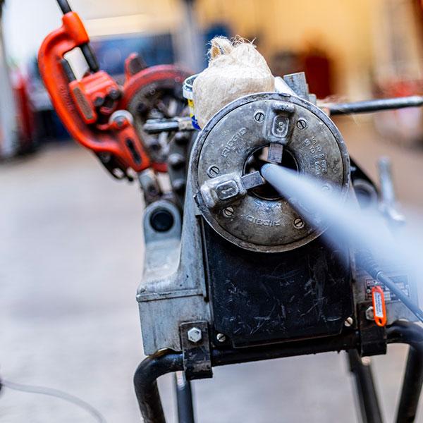 udstyr til brandslukning